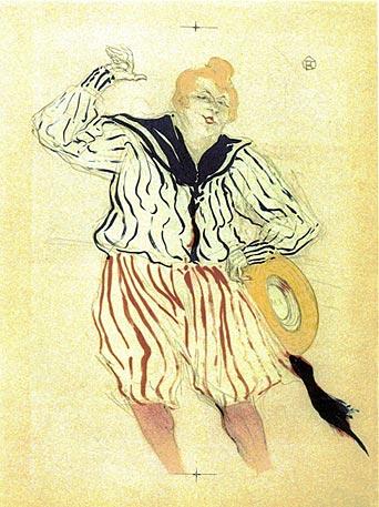 Henri de Toulouse-Lautrec I La chanson du Matelot, au Star, Le havre 1899 I Farblithographie I Mönchehaus Museum Goslar 2008