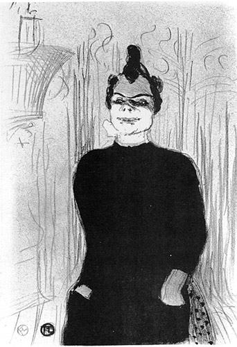 Henri de Toulouse-Lautrec I A la gaieté Rochechouart, Nicolle 1893I Lithographie I Mönchehaus Museum Goslar 2008