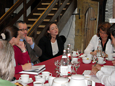 Dr. Tayfun Belgin, Huma Kabakç·, Dr. Bettina Ruhrberg (vl.), Foto: G. Kortlüke