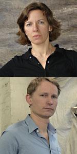 Christiane Baumgartner und David Schell
