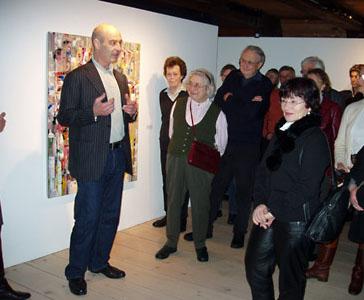 Vernissage Michael Burges im Mönchehaus Museum Goslar, 2007