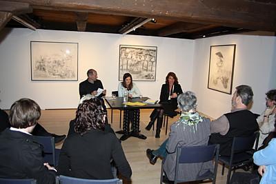 Sarah Nschotschi Haslinger  Künstlergespräch im Mönchehaus Museum Goslar 2010