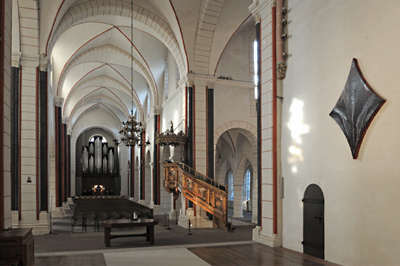Jason Martin - For Gods Sake, Marktkirche Goslar Fotograf: Bernhard Heinze; Fotobearbeitung: meßermedia
