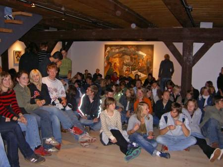 Schülerdiskussion Foto: Gudrun Kortlüke