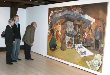 Ausstellungseröffnung Foto: Uwe Epping, Goslar